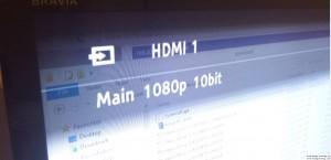Conexión a 10 bit por HDMI v2 + gráfica QUADRO M4000